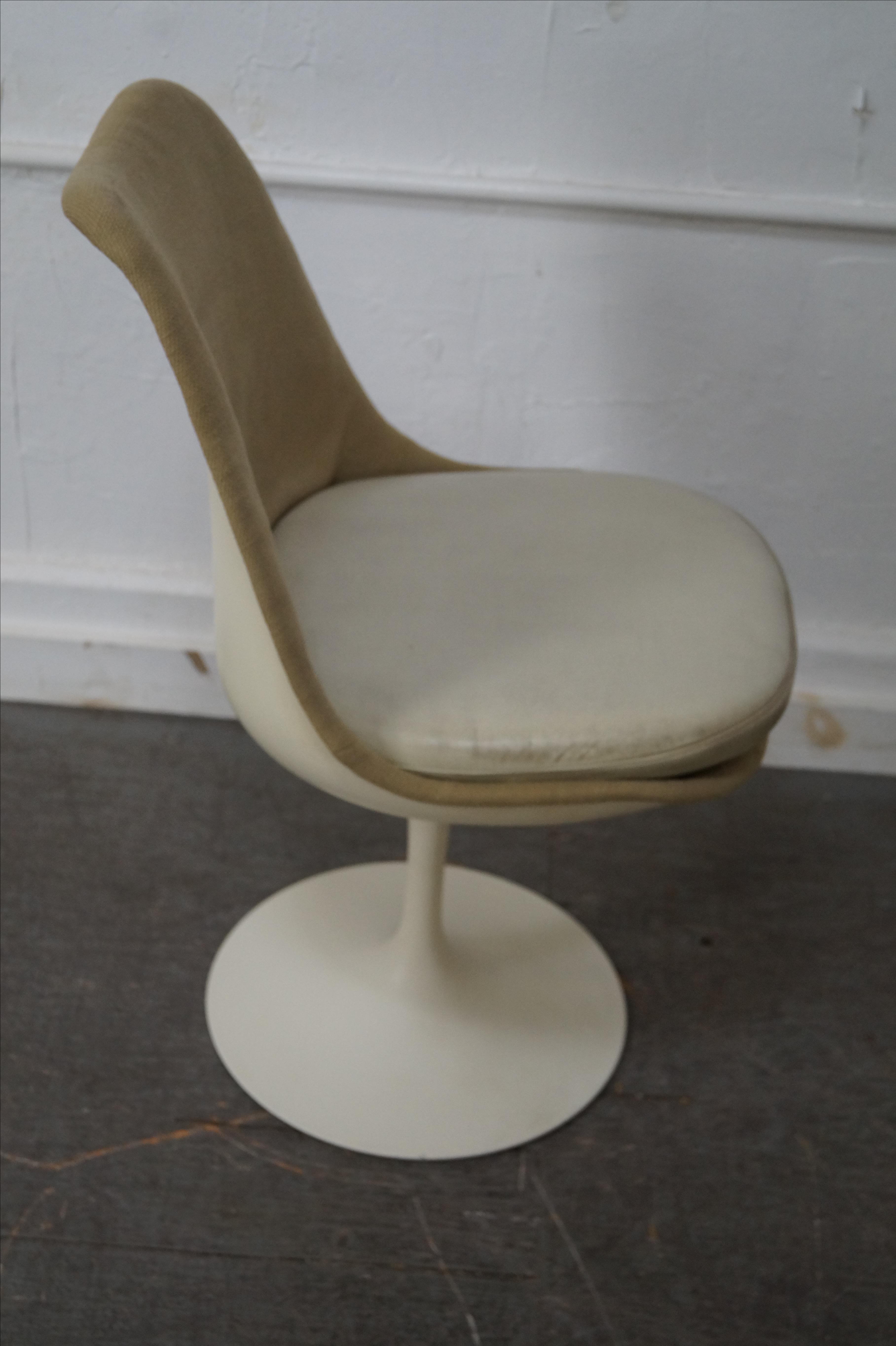 Mid Century Modern Knoll Eero Saarinen Mid Century Armless Side Chair For  Sale   Image
