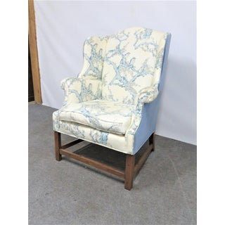 Henredon English Chippendale Style Wing Chair Preview