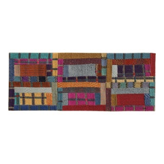 """Missoni """"No. 3"""" - Rectangles"""" Wool Tapestry For Sale"""