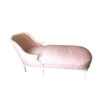 Modern Light Pink Chaise For Sale