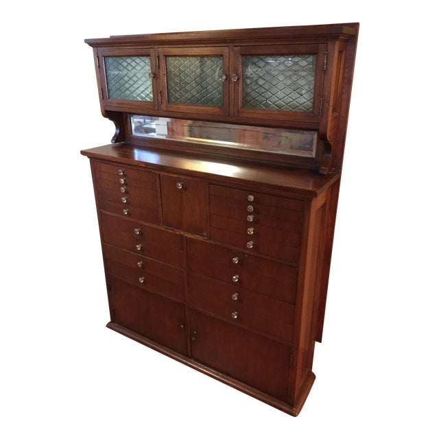 Antique Dental Cabinet - Image 1 of 6 - Antique Dental Cabinet Chairish