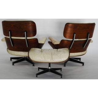 Pair of Mid-Century Herman Miller Eames Lounge Chairs With Ottoman Preview