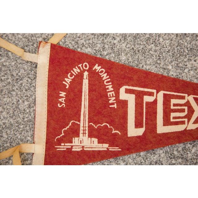 Texas, San Jacinto Monument Felt Flag - Image 2 of 3