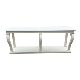 French Empire Painted Console For Sale
