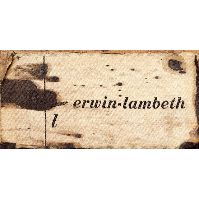 1960s 1960s Mid-Century Modern Erwin Lambeth Triangle Walnut Coffee Table For Sale - Image 5 of 6