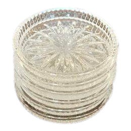 Crystal Coasters - Set of 6 For Sale