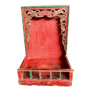 20th Century Chinese Shrine Shelf For Sale