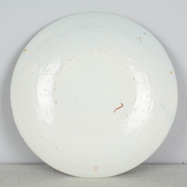 18th Century 18th Century Delft Ceramic Plate For Sale - Image 5 of 6