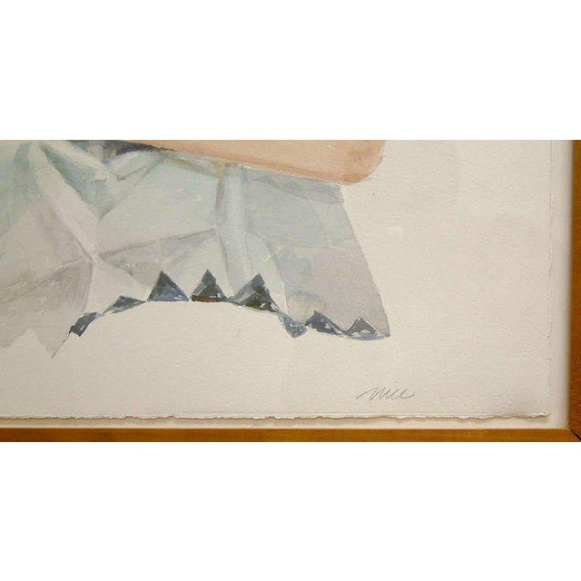 "Don Nice ""Spearmint Gum"" Watercolor on Arches Paper 1973 - Image 5 of 6"