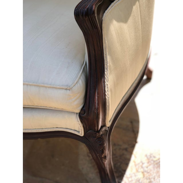 Wood Early 20th Century Louis XV Style Porter's Chair of Walnut For Sale - Image 7 of 13