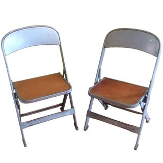 Clarin Mfg. Company Children's Chairs - A Pair For Sale