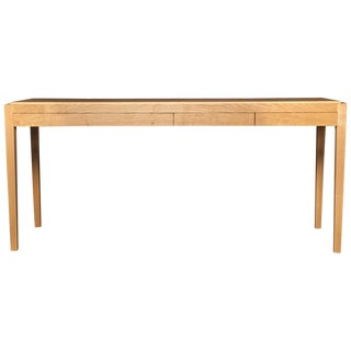 Console Table by Fred Rossi in White Ash For Sale