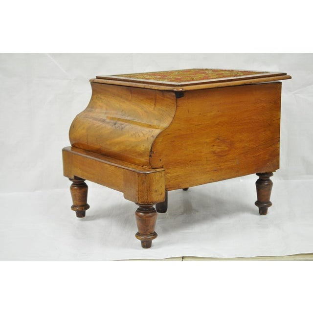 Terrific 19Th Century Mahogany Needlepoint Pull Out Commode Ibusinesslaw Wood Chair Design Ideas Ibusinesslaworg