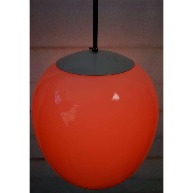 There's nothing sweeter than the simplicity of this egg form pendant! Being the lover of color that I am I added an orange...