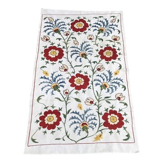 Suzani Tablecloth 16th Century Vintage Design Table Runner