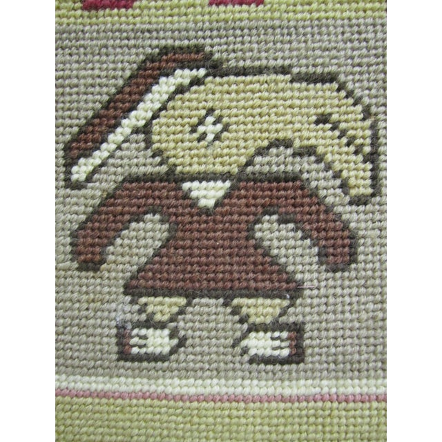 Anthropomorphic Needlepoint Tapestry - Image 3 of 4