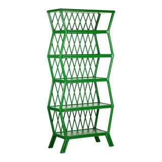 Hollywood Etagere - Bright Green For Sale