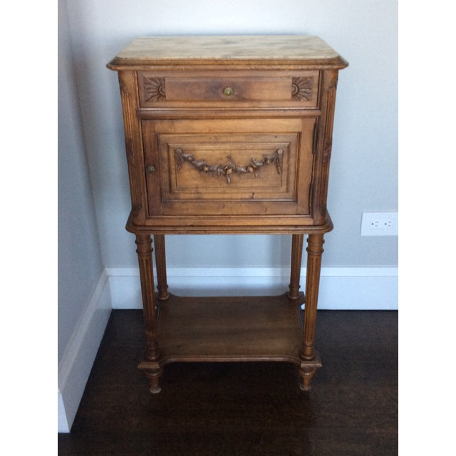 Early 21st Century Antique Louis XV Style Nightstand For Sale - Image 5 of 5
