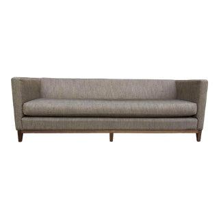 Danish Modern Upholstered Sofa For Sale