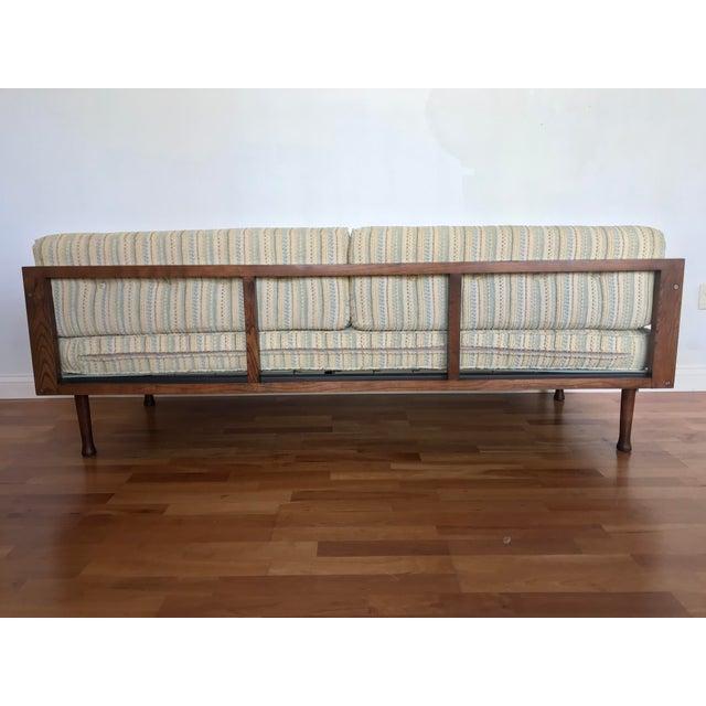 Danish Modern Sofa Daybed Walnut MCM Selig Era Mid Century Modern For Sale - Image 6 of 13