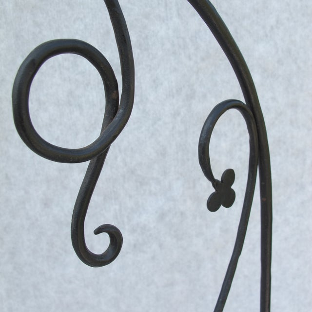 Early 20th-C. Wrought Iron Screen - Image 5 of 9