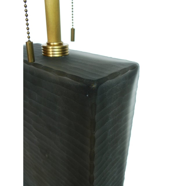Donghia Frosted Glass Table Lamp - Image 3 of 6