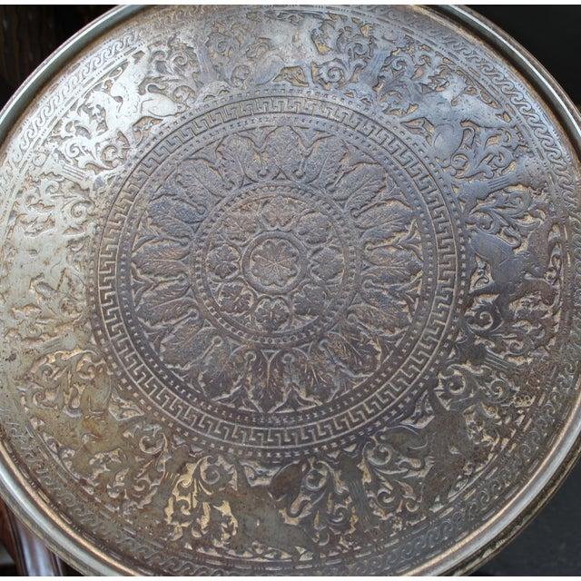 19th Century Gilt Metal Gueridon Table - Image 7 of 9