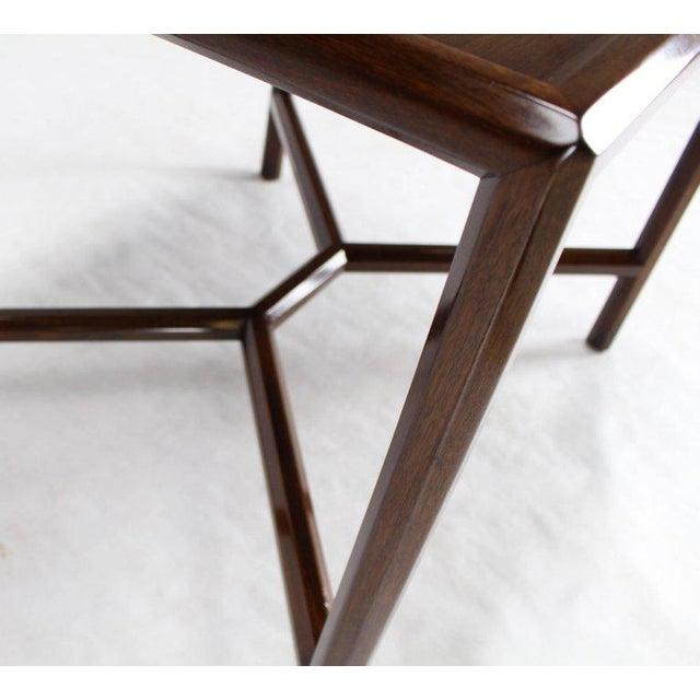 Dunbar Furniture Dunbar Walnut Side Table For Sale - Image 4 of 7