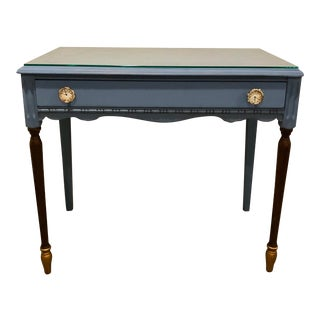 Antique Victorian Refurbished Writing Desk For Sale