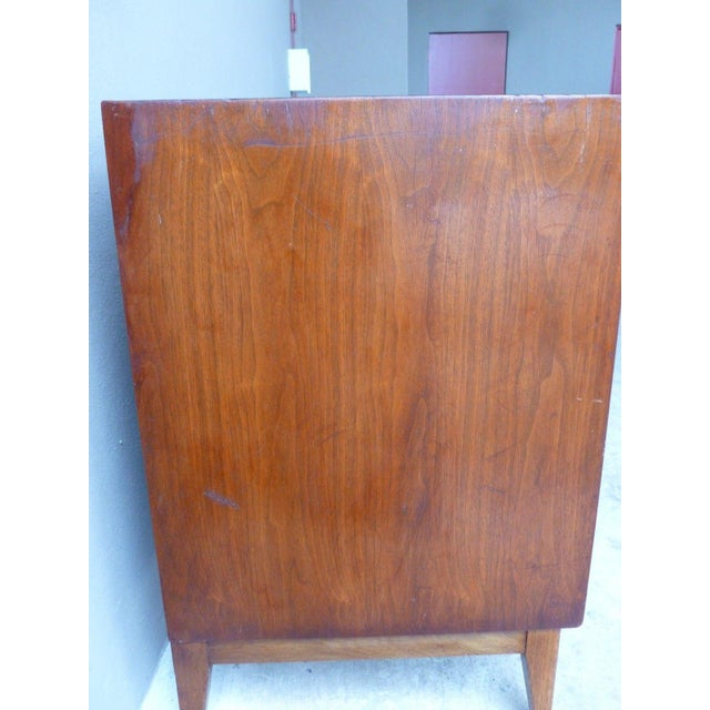 1950s Vintage Danish Modern Style Credenza/Chest For Sale - Image 12 of 13