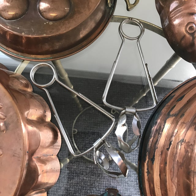 Metal Copper Escargot Kitchen Collection - Set of 7 For Sale - Image 7 of 8