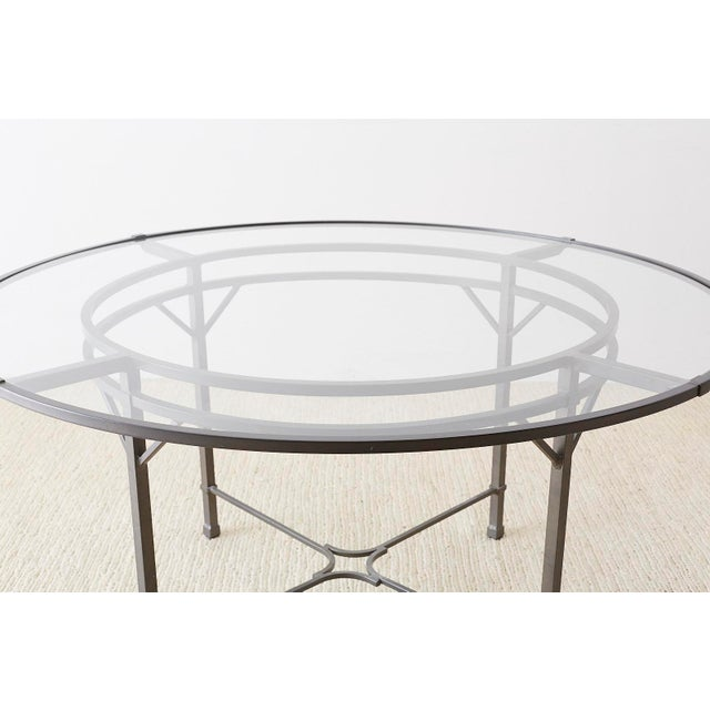 Neoclassical Richard Frinier for Brown Jordan Garden Patio Table For Sale - Image 3 of 13