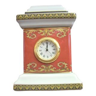 1980s Vintage Rosenthal Versace Clock For Sale