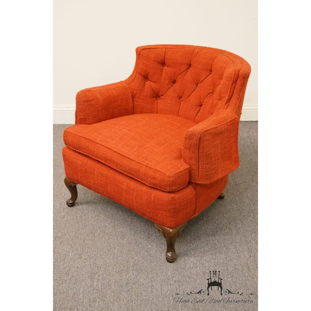 Henredon Henredon Mid-Century Upholstered Accent Arm Chair For Sale - Image 4 of 9