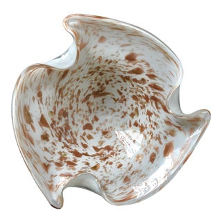 "Mid-Century Murano 10"" Console Bowl For Sale"