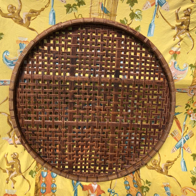 Asian Vintage Bamboo Tobacco/Flower Drying Rack For Sale - Image 3 of 10