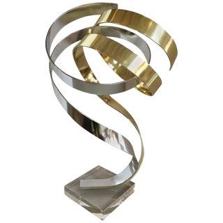 Dan Murphy Ribbon Sculpture For Sale