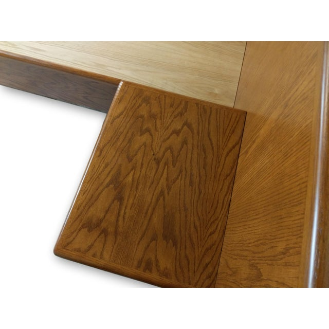 Hand Crafted Mid-Century Danish Inspired Floating Platform Bed & Nightstands - King For Sale - Image 10 of 13