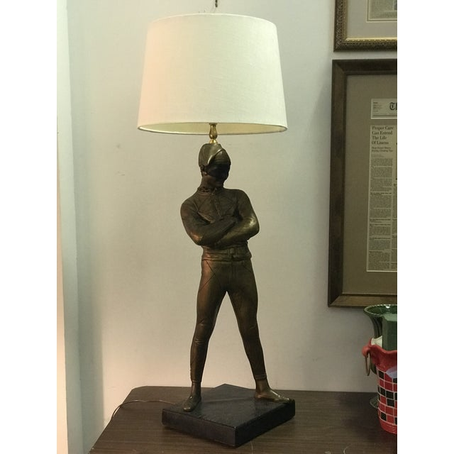 Carnival French Style Jester Table Lamp For Sale - Image 3 of 9