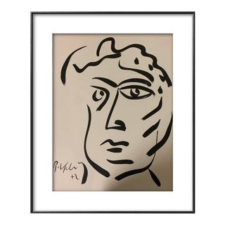 Peter Keil Black and White Painting For Sale