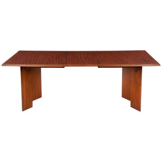 Frank Lloyd Wright Taliesin Rectangular Dining Table For Sale