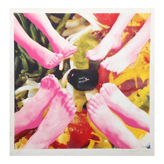 Paris Review Silkscreen - James Rosenquist For Sale