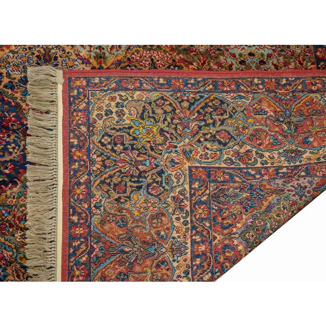 An exceptional early 20th century Persian Karastan Kirman rug with a beautiful all-over patchwork pattern containing...