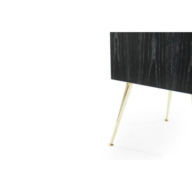 Gibby Collection End Tables in Limed Oak For Sale - Image 9 of 13
