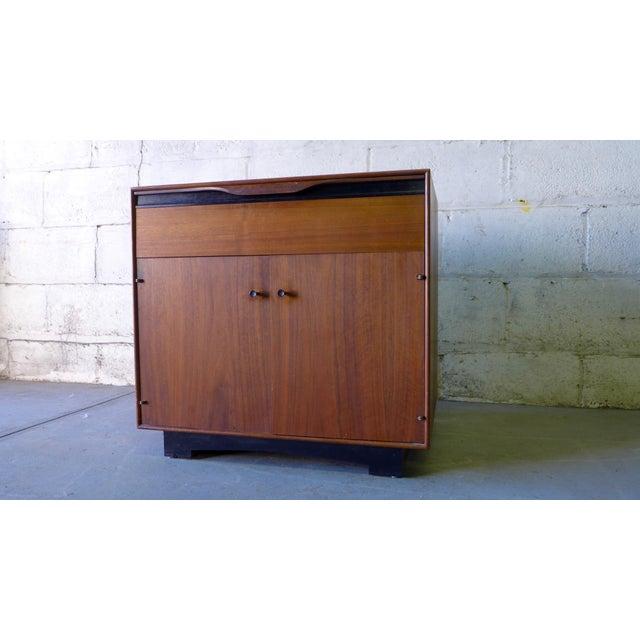 John Stuart Mid-Century Modern Nightstand Cabinet - Image 3 of 6