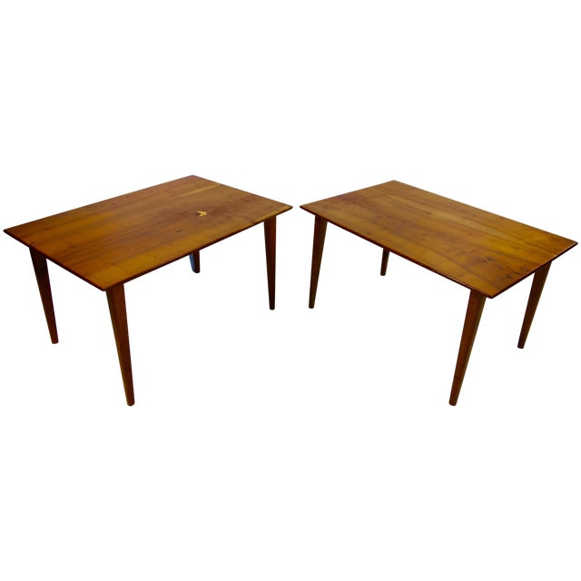 Arthur Espenet Carpenter III Tables - A Pair For Sale