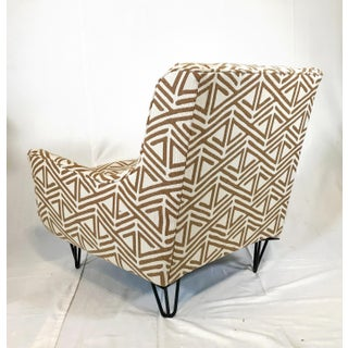 Mid Century Modern Adrienne Pearsal Style Triangle Chair Preview