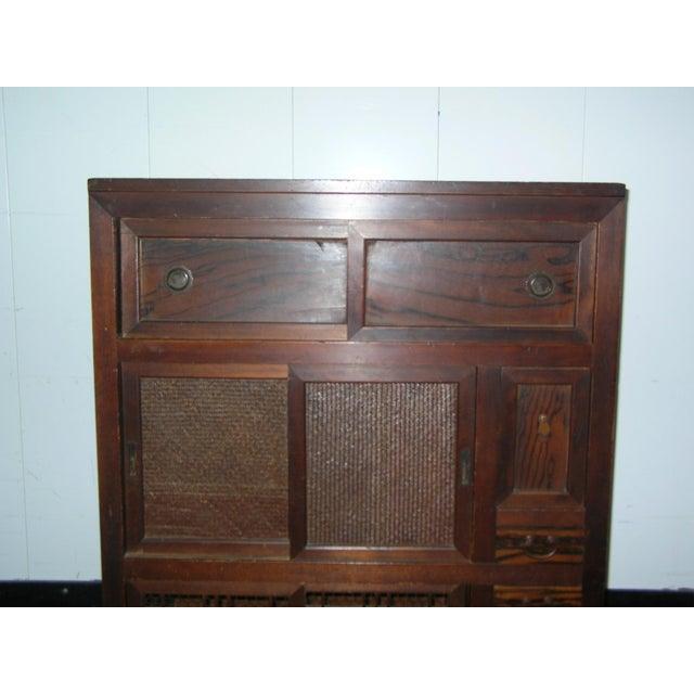 Antique Japanese Scholar's Tansu Cabinet - Image 3 of 13 - Antique Japanese Scholar's Tansu Cabinet Chairish