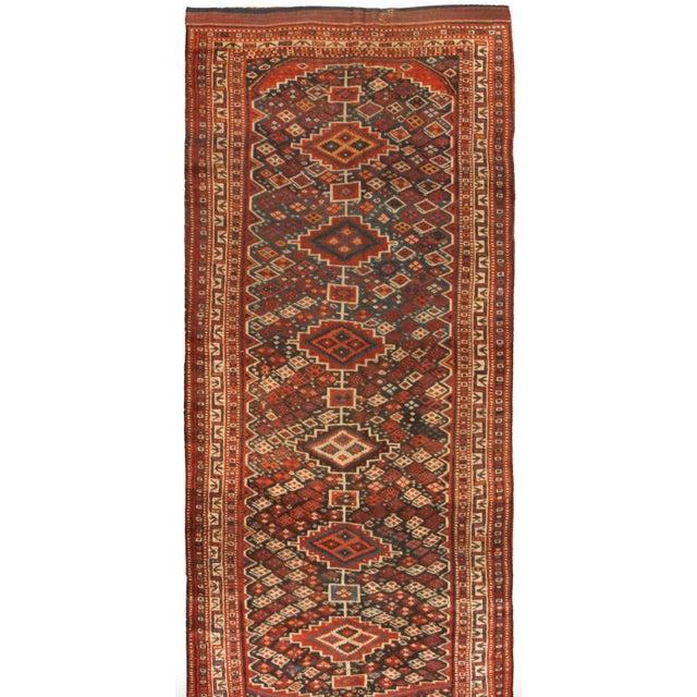 Antique 19th Century Persian Kurdish Rug - Image 1 of 1