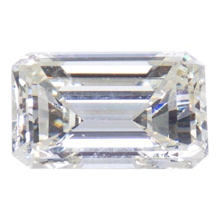 Gia Certified Emerald Cut Diamond 4.08 Carat For Sale